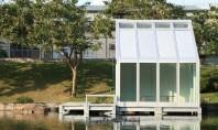 Geamul cu apă care poate răci şi încălzi locuinţele Geamul umplut cu apa dezvoltat de cercetatorul