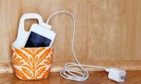 Suport pentru incarcatorul telefonului mobil Fie acasa fie la birou cu totii ne incarcam telefoanele mobile