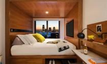 Camere de hotel de dimensiuni reduse care folosesc la maximum spațiul