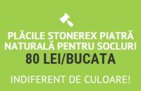 Promotie la placile STONEREX - piatra naturala pentru socluri