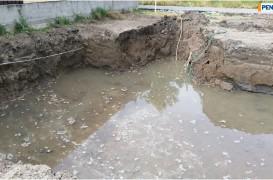 Hidroizolare - impermeabilizare fundație fără membrană direct în masa betonului, pânză freatică 1 m