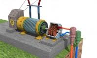 Procesarea si exploatarea energiei geotermale - transformarea in energie electrica Extractia energiei geotermale este doar unul