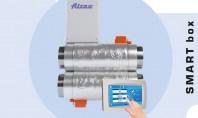Sisteme de ventilatie centralizata cu un flux de aer inteligent! SMART box Cutii SMART - panou