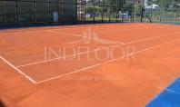 Un nou teren de tenis cu zgura Conipur Pro Clay in Romania! Indfloor Group a finalizat