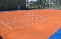 Un nou teren de tenis cu zgura Conipur Pro Clay in Romania!
