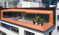 Un vechi depozit din beton este acum spațiu de birouri cu certificare LEED Gold La o