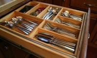 Organizatoare pentru sertarele din bucatarie! Pentru momentele acelea neplacute cand cautati o lingurita printre cutite si