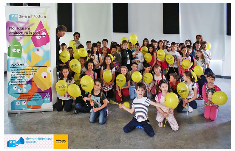 Conferintele de arhitectura preferate de peste 4000 de copii in ultimii patru ani