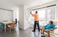 Peretii pivotanti si mobilierul ergonomic unifica spatiile