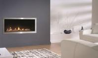 Fire Line Automatic 2 model E - confort si momente de relaxare Semineul Fire Line Automatic