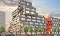 Un nou centru de afaceri din Europa se va face remarcat prin acoperișurile verzi Noul centru