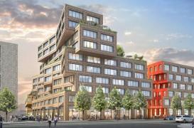 Un nou centru de afaceri din Europa se va face remarcat prin acoperișurile verzi