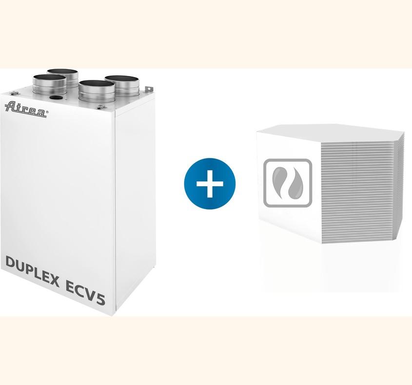 Sisteme de ventilație cu recuperare de căldură care recuperează și reglează automat și umiditatea