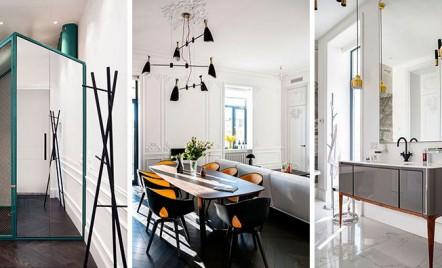 Apartament cu design modern intr-o structura din secolul al XIX-lea