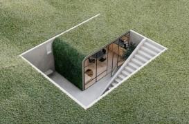 Inspiraţie pentru un birou în grădină