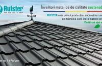 RUFSTER - Primul producător de țiglă metalică din România care folosește materie primă cu certificat verde
