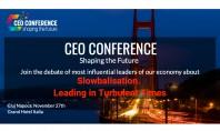 CEO Conference - Shaping the Future - 27 noiembrie 2019 Cluj-Napoca În cadrul acestuia lideri autentici