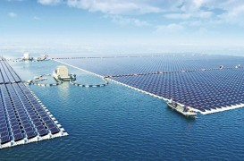Cea mai mare fermă solară plutitoare din lume a început să genereze energie