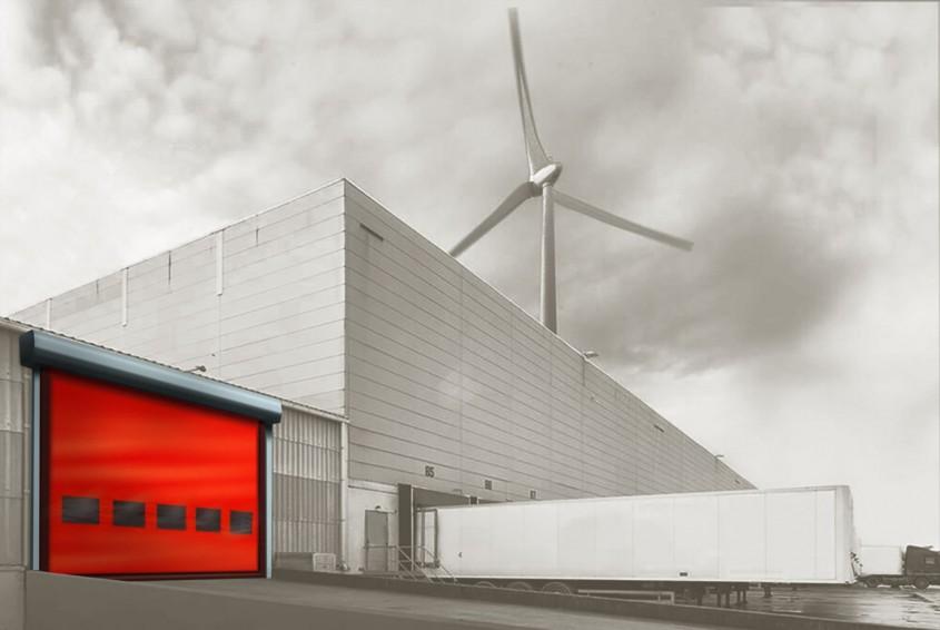 Uşi rapide pentru confort și eficiență în halele industriale