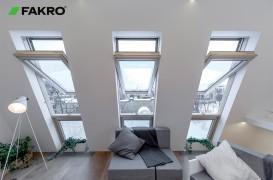 Ferestrele Fakro Superînalte - Acoperișul tău de sticlă