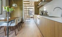 Apartament într-un bloc muncitoresc, de nerecunoscut după renovare