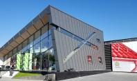 """Inaugurarea Centrului de Logistica CONLUXART Cladirea cu aer """"hich-tech"""" a demonstrat ca imbinarea mai multor tipuri"""