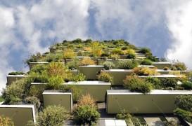Prima clădire cu fațadă înverzită din Franţa