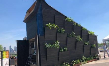 ONU și Universitatea Yale prezintă locuința eco a viitorului: O căsuță care produce electricitate, apă și hrană