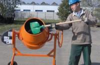 Economisiti timp si energie cu betoniera semi-profesionala Bisonte BB 180