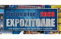 Promoție expozitoare scule - Listă de prețuri valabilă până în martie 2021