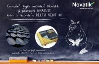 Acoperis Novatik - promotie pana la 15 martie Pana pe data de 15 martie, la tigla metalica Novatik primesti GRATUIT folia anticondes Delta - Vent N.