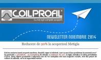 Reducere de 20% la acoperisul Metigla In perioada 1 octombrie - 30 noiembrie Coilprofil ofera o