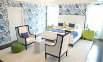 Prospețime în amenajare: dormitoare în verde și albastru
