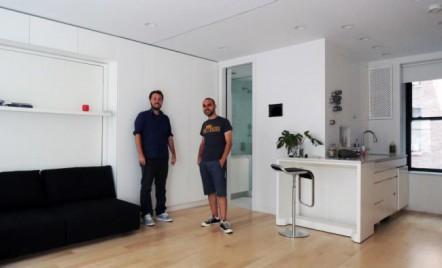Apartamentul LifeEdited sau cum doi arhitecti romani au castigat provocarea de a amenaja eficient un spatiu de doar 39 mp