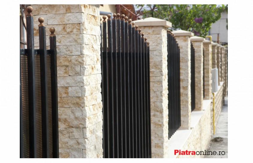 Ce tip de piatra alegi pentru gard?