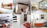 Paturi adaptate pentru camere mici - 13 soluţii Ne-am gandit sa iti oferim o serie de