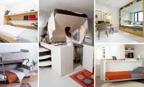 Solutii de paturi adaptate pentru camere mici
