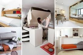 Paturi adaptate pentru camere mici - 13 soluţii