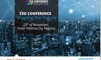 CEO Conference - Shaping the Future are loc în Cluj-Napoca pe 22 noiembrie DoingBusiness ro organizeaza