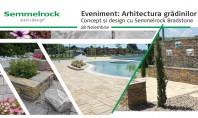 Arhitectura grădinilor Concept & Design cu Semmelrock Bradstone - Inspirat de natură realizat manual gama noastră