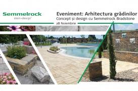 Arhitectura grădinilor. Concept & Design cu Semmelrock Bradstone