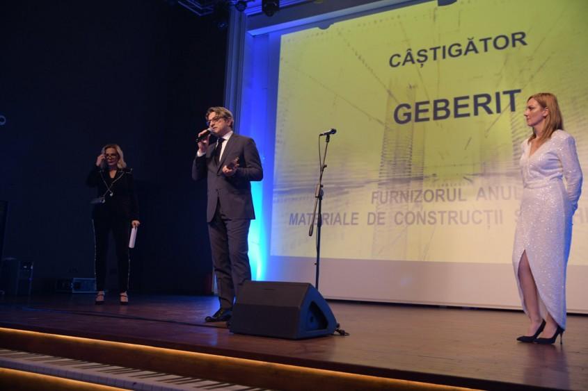 Geberit a fost premiat în cadrul Galei Premiilor Real Estate