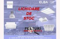 Lichidare de stoc - Super-prețuri la produse de iluminat industriale / office / rezidențiale