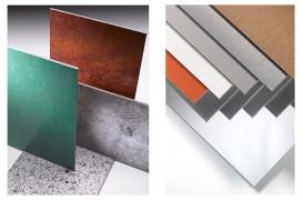 Finisaje noi pentru panourile compozite din aluminiu ALUCOBOND®