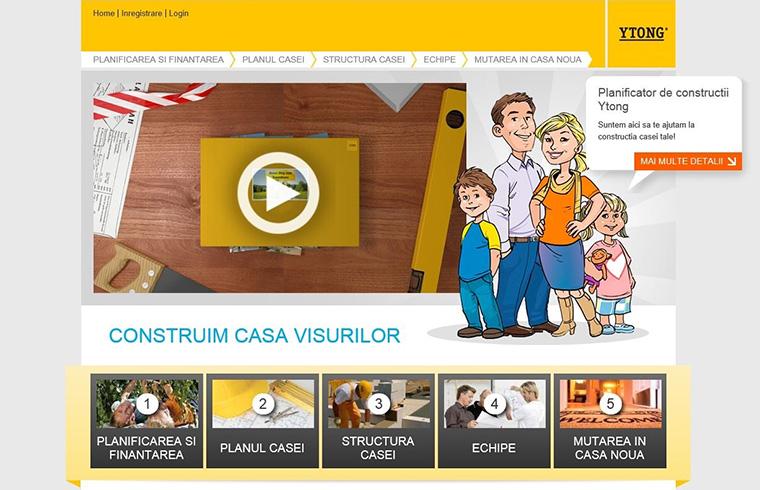YTONG sustine constructiile de calitate prin lansarea unui ghid informativ online