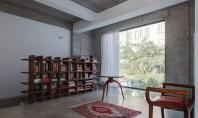 Echilibru reconfortant intre stil si culoare Pardoseala gri din Microtopping se incadreaza perfect in acest decor