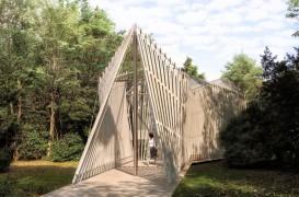 Foster&Partners prezinta o capela diafana pentru primul pavilion al Vaticanului la Bienala de