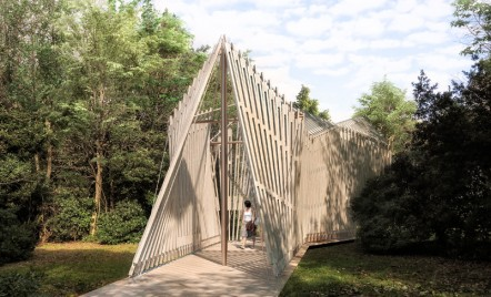 Foster&Partners prezintă o capelă diafană pentru primul pavilion al Vaticanului la Bienala de Arhitectură de la Veneția