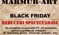 Reduceri spectaculoase de Black Friday - MARMUR-ART MARMUR-ART v-a pregatit oferte de Black Friday cu reduceri