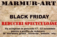 Reduceri spectaculoase de Black Friday - MARMUR-ART
